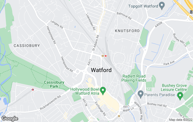 Map for Lettings Plus Property Management Services Ltd, Watford