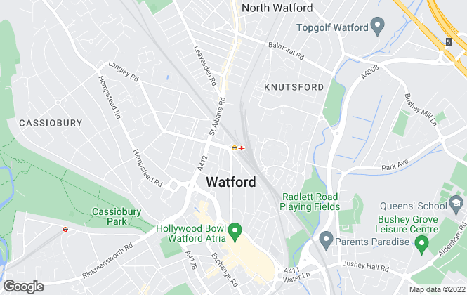 Map for Quest Estate Agents, Watford
