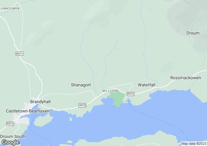 Map for Derrymihin West