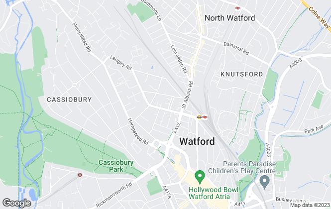 Map for Savvybricks, Watford