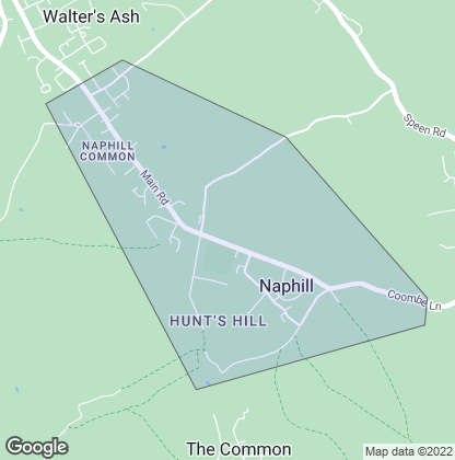 Map of property in Naphill