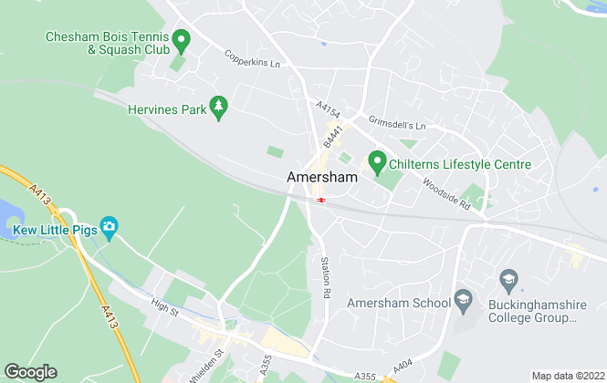 Map for Ash Mill, Amersham