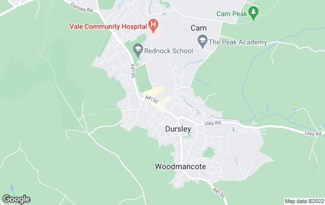 Map for R A Bennett & Partners , Dursley