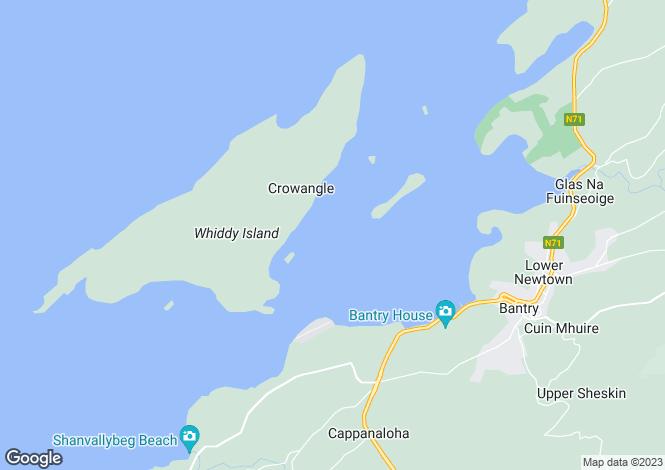 Map for Bridge House, Bridge Street, Bantry, West Cork