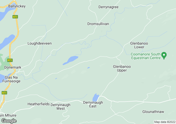 Map for Valley View, Cahernacrin, Bantry, Co. Cork, P75 AE86