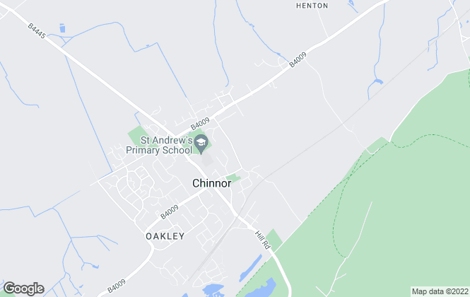 Map for Cranbrook Surveying Services Limited, Oxford
