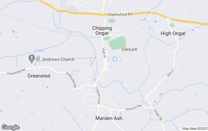 Map for Stratstone Estates, Essex