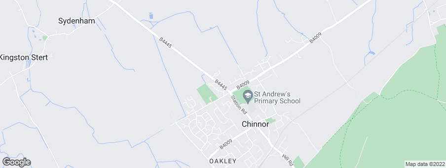 Map for Bellway Homes Ltd (Thames Valley)