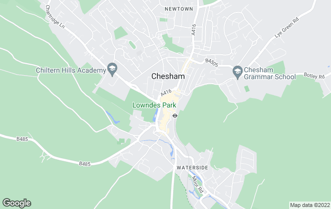 Map for Chancellors , Bucks Commercial Sales