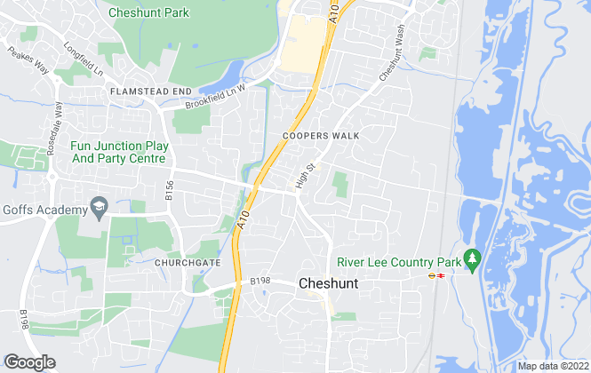 Map for Shepherds Estate Agents, Cheshunt