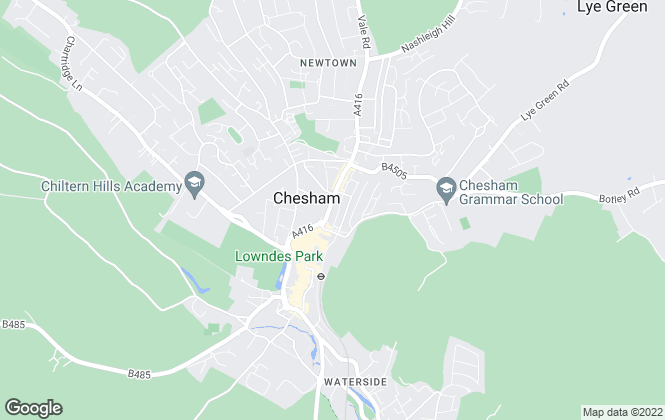 Map for Robsons, Chesham
