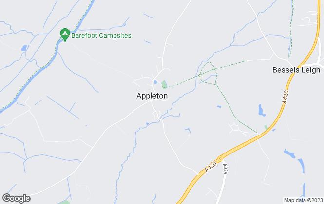 Map for PJ Ayres and Son Ltd, Appleton