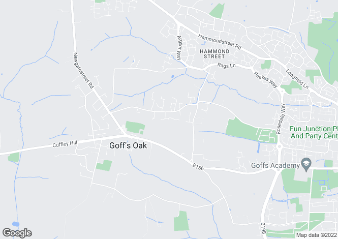 Map for Goffs Oak, EN7, Herts - 6 Bed Double Fronted Detached In Popular St James Parish Turning. *PART-EXCHANGE CONSIDERED WITH
