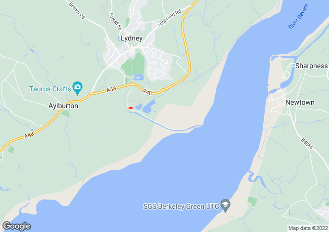 Map for Lydney Harbour Estate,