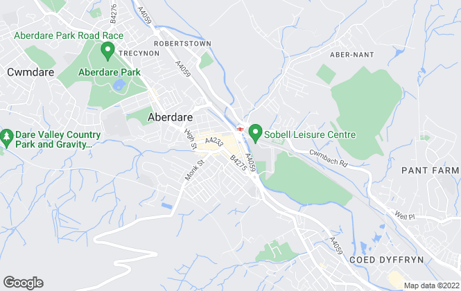 Map for Apex Estate Agent, Aberdare