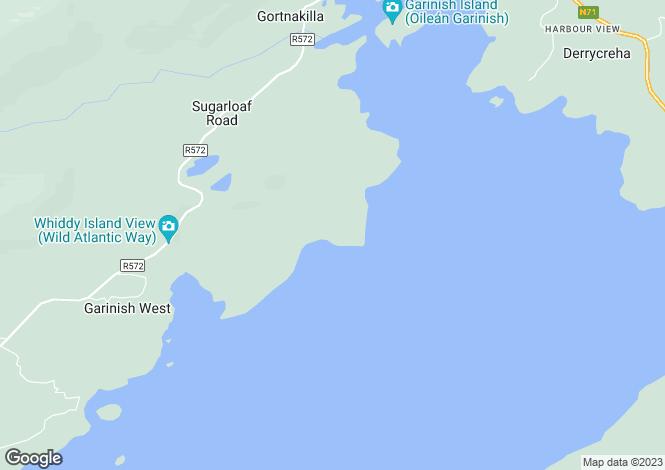Map for Glengarriff, Cork