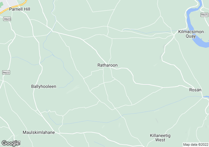 Map for Bandon, Cork