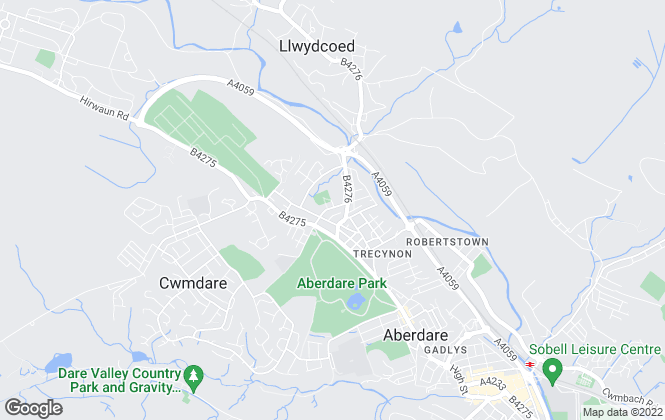 Map for Sophie Hill Estate Agents , Aberdare
