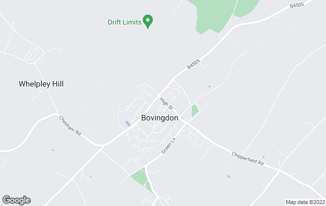 Map for Pendley Estates, Bovingdon