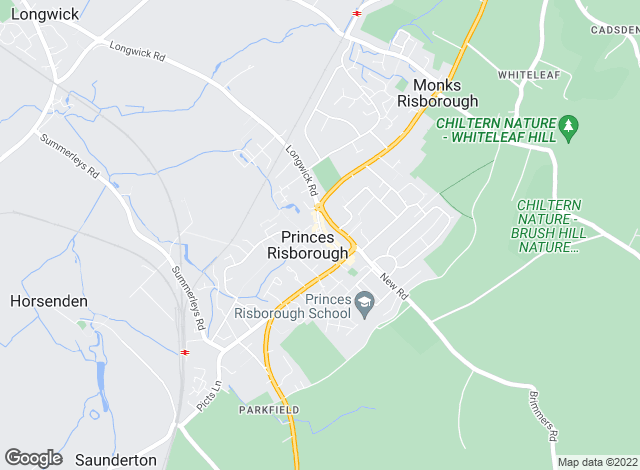 Map for The JNP Partnership, Princes Risborough