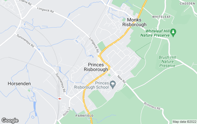 Map for Colombs Estate Agents, Princes Risborough