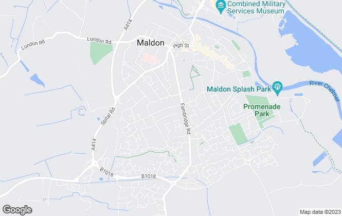 Map for Von Sinclair LTD, Maldon