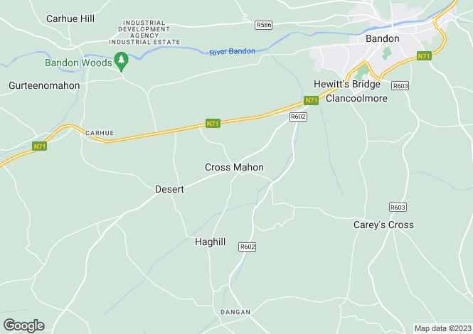 Map for Crossmahon Bar, Bandon, Co. Cork