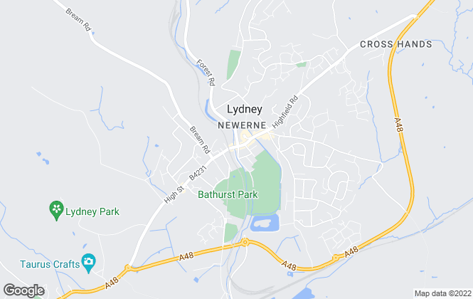 Map for Aroha Lettings Limited, Lydney