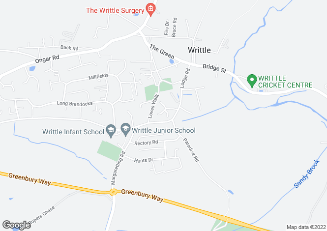 Map for Writtle