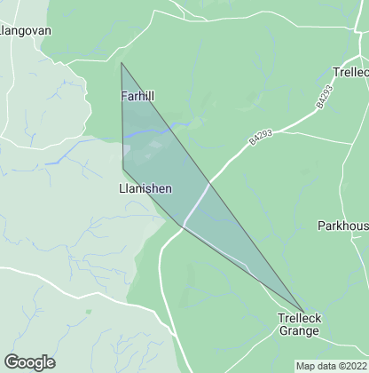 Map of property in Llanishen