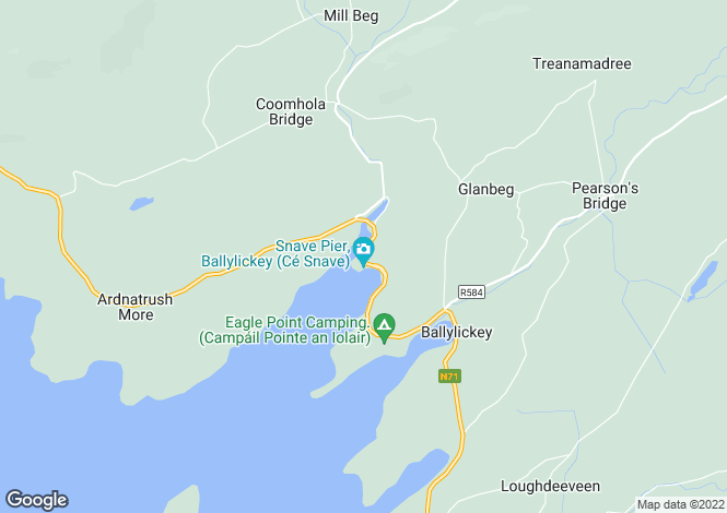 Map for Bantry, Cork