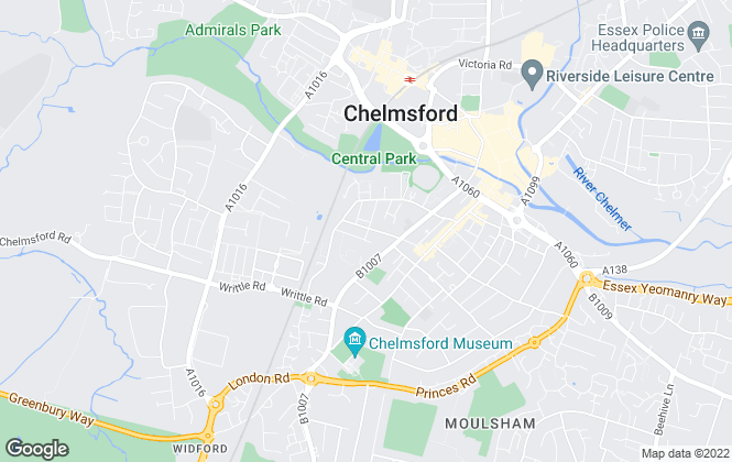 Map for Flambard Williams Limited, Chelmsford