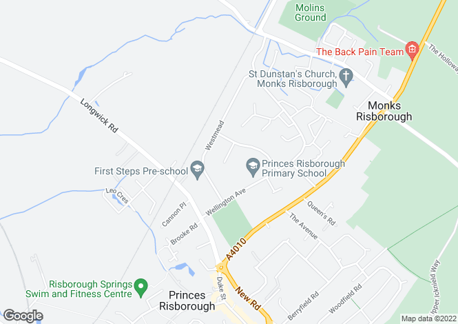 Map for Princes Risborough | Buckinghamshire