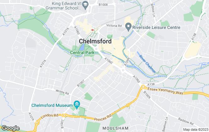 Map for Lambert Smith Hampton, Chelmsford