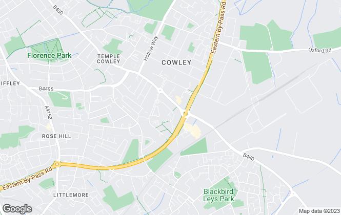 Map for Lambert Smith Hampton, Oxford