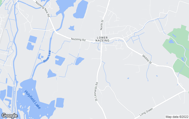 Map for GT HOMES, Nazeing