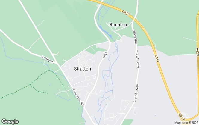 Map for Leaf Ltd, Cirencester
