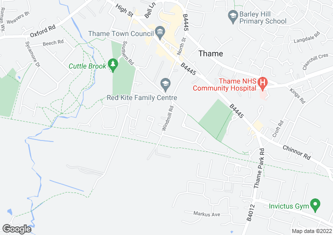 Map for HOLDEN at Windmill Place, Windmill Road,