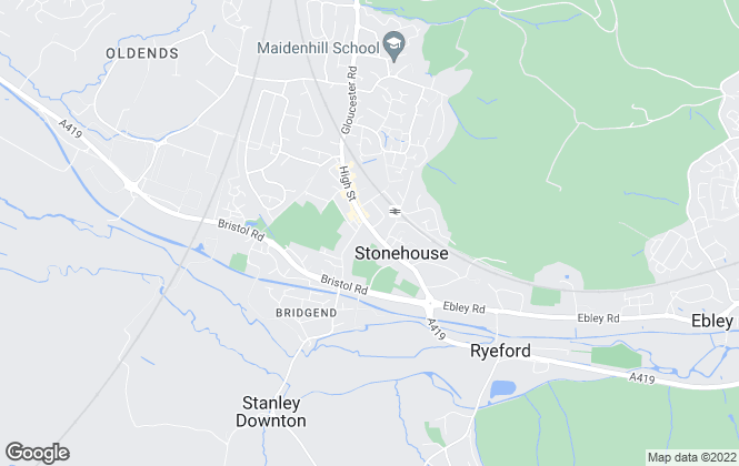 Map for Naylor Powell, Stonehouse