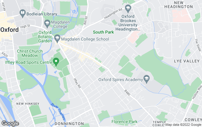 Map for Premier Estate Agents, Cowley