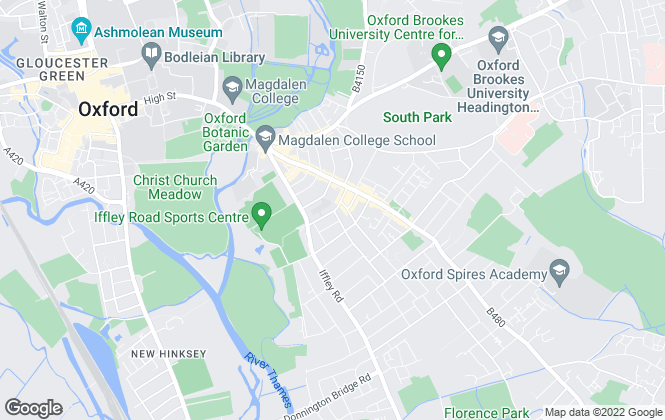 Map for The Rent Guru, Oxford