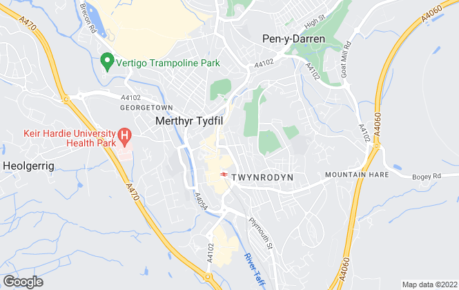 Map for Lyndale Property Management, Merthyr Tydfil