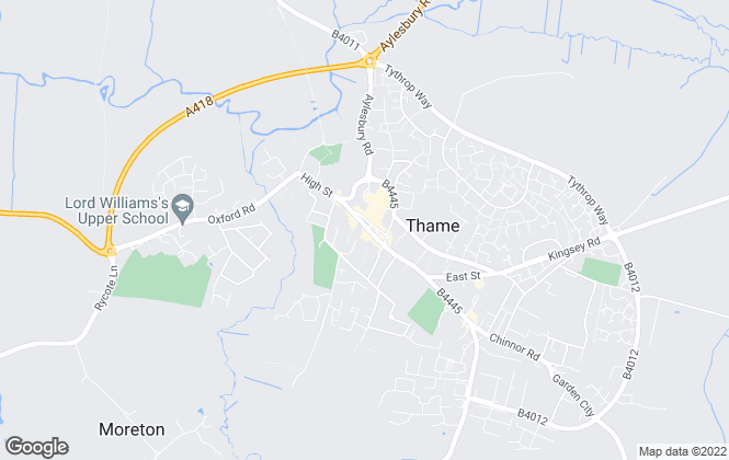 Map for Lightfoots, Thame