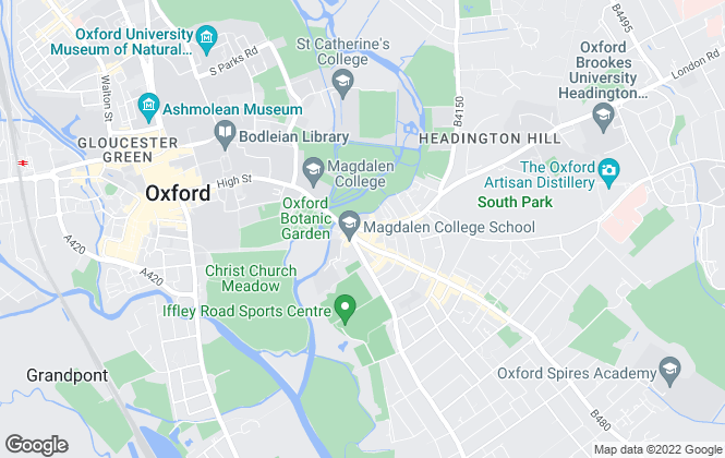 Map for Taylors Estate Agents, Oxford City