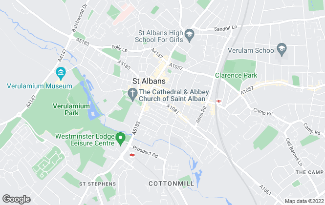 Map for Your Move , St Albans