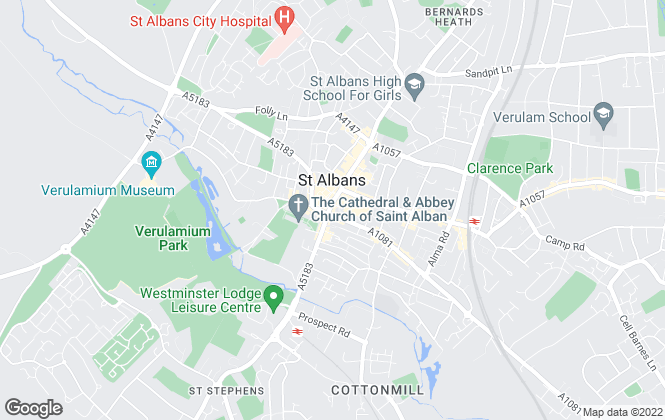 Map for William H. Brown - Lettings, St Albans - Lettings