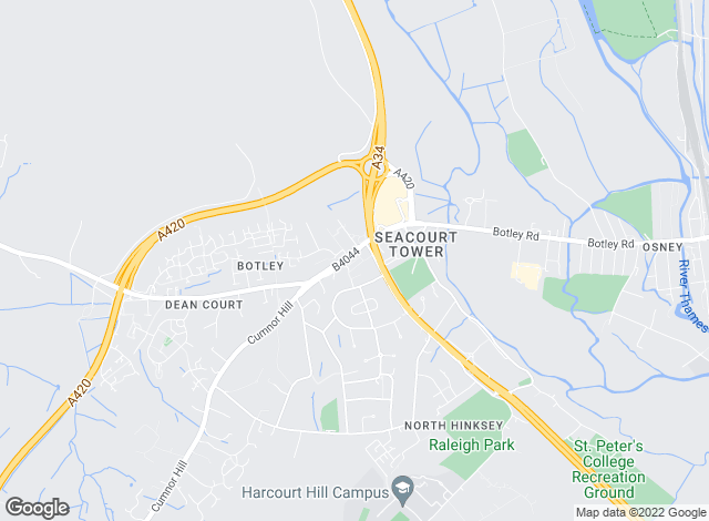 Map for Andrews Estate Agents, Botley