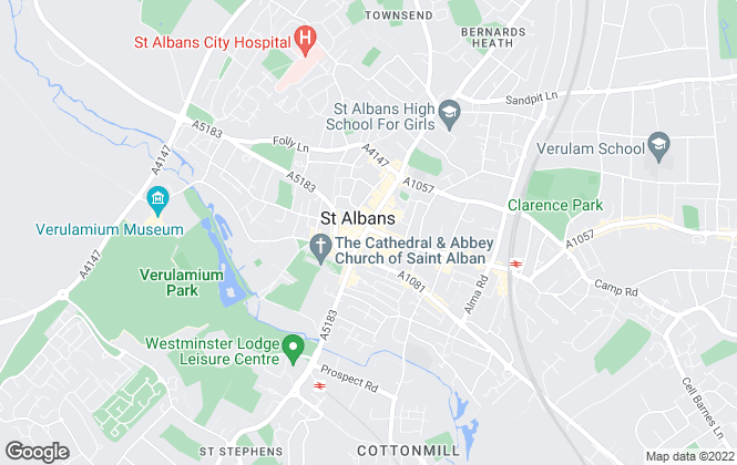 Map for Connells, St Albans