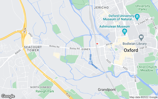 Map for Pearce Alder & Co, Oxford