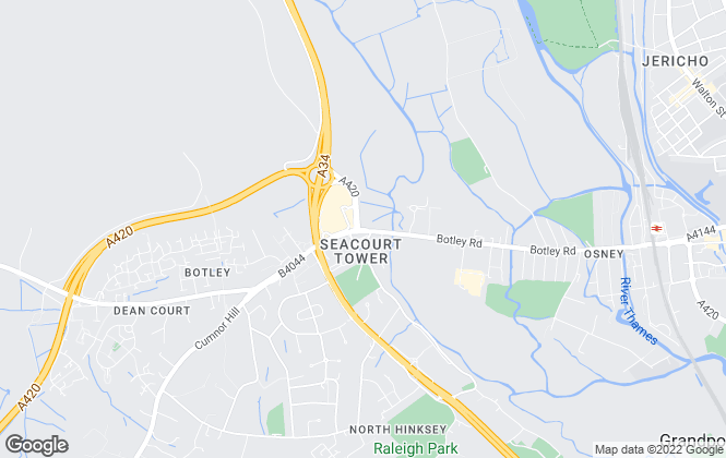 Map for Chancellors, Botley Lettings